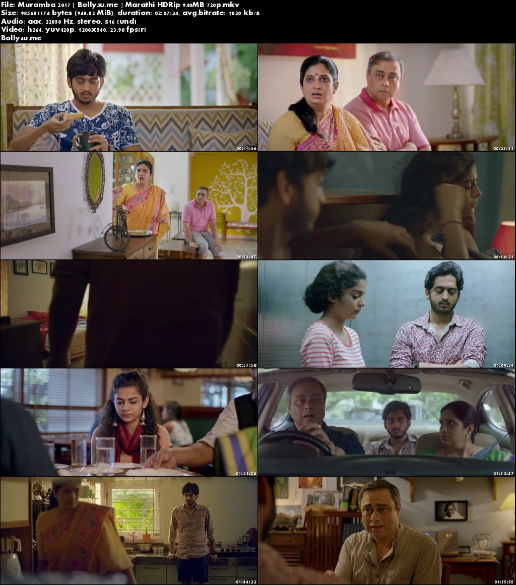 Muramba 2017 HDRip 950MB Marathi 720p Download