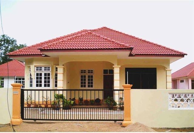 f 53 model desain rumah minimalis sederhana di kampung