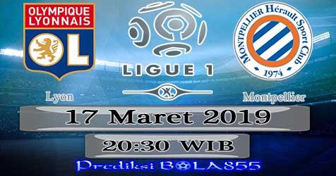 Prediksi Bola855 Lyon vs Montpellier 17 Maret 2019