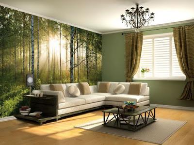 easy up tapet skog fototapet björkträd skogstapet trädstammar fondtapet vardagsrum
