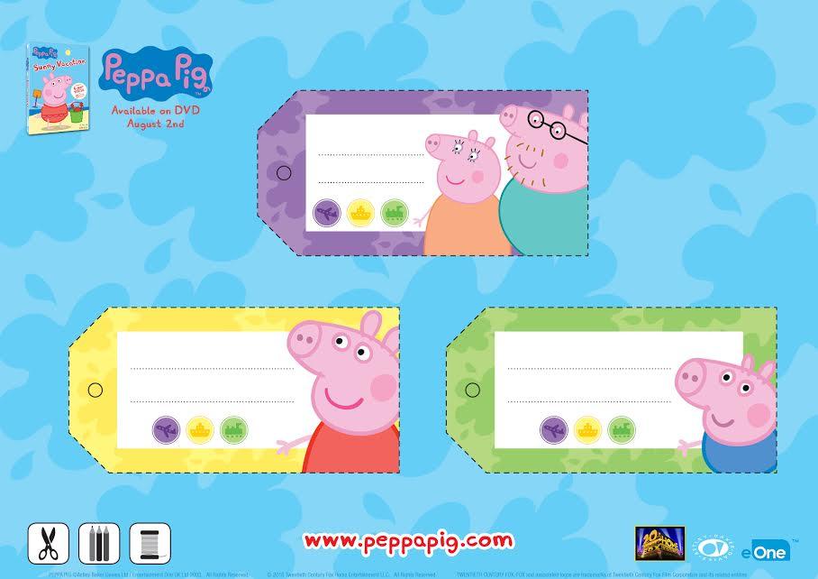 A Few Peppa Pig Activities To Enjoy Peppapigdvd