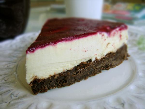 vit chokladmoussetårta
