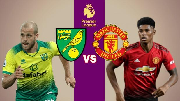مشاهدة مباراة مانشستر يونايتد ونوريتش سيتي بث مباشر اليوم 11-1-2020 في الدوري الانجليزي