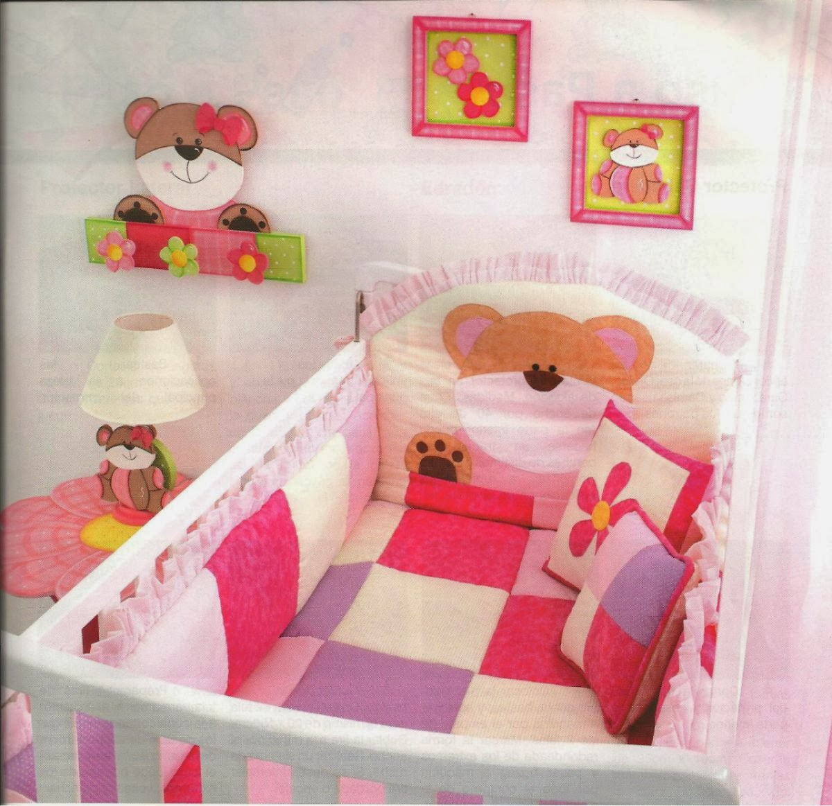 Imagenes fantasia y color como decorar el cuarto del bebe for Decoracion en la pared para ninas