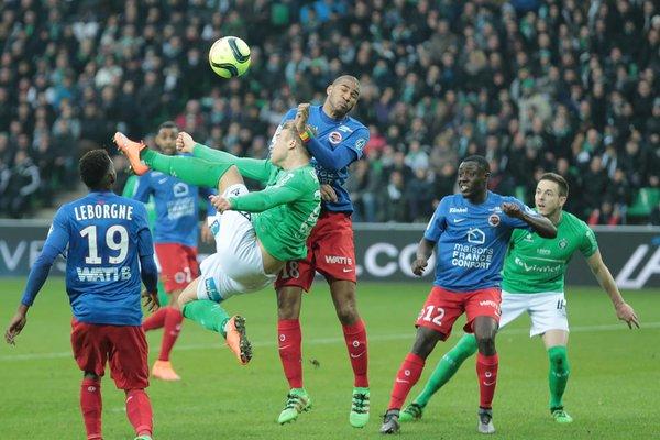 Saint-Etienne - Caen (1-2) : les buts et le résumé vidéo