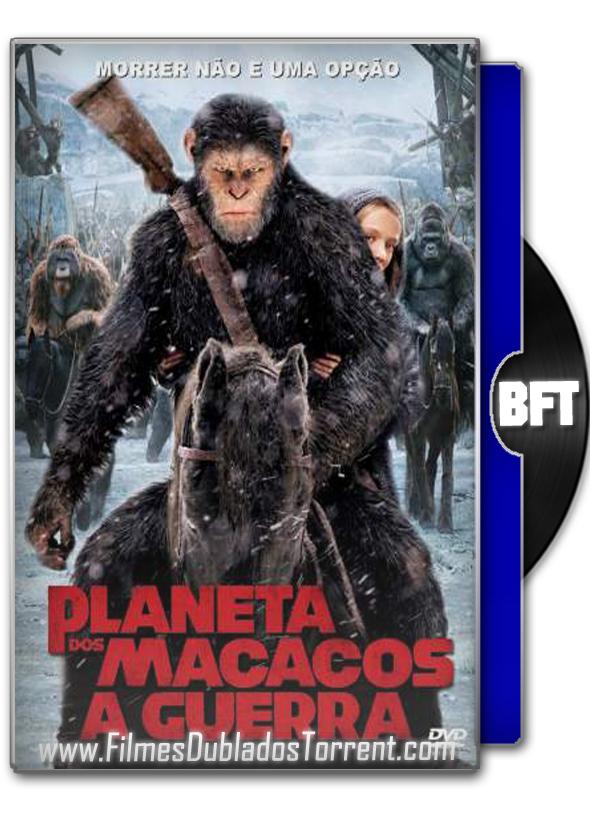 Planeta dos Macacos: A Guerra 2017 – BluRay 3D HSBS, 720p / 1080p Dublado, Dual Áudio 5.1