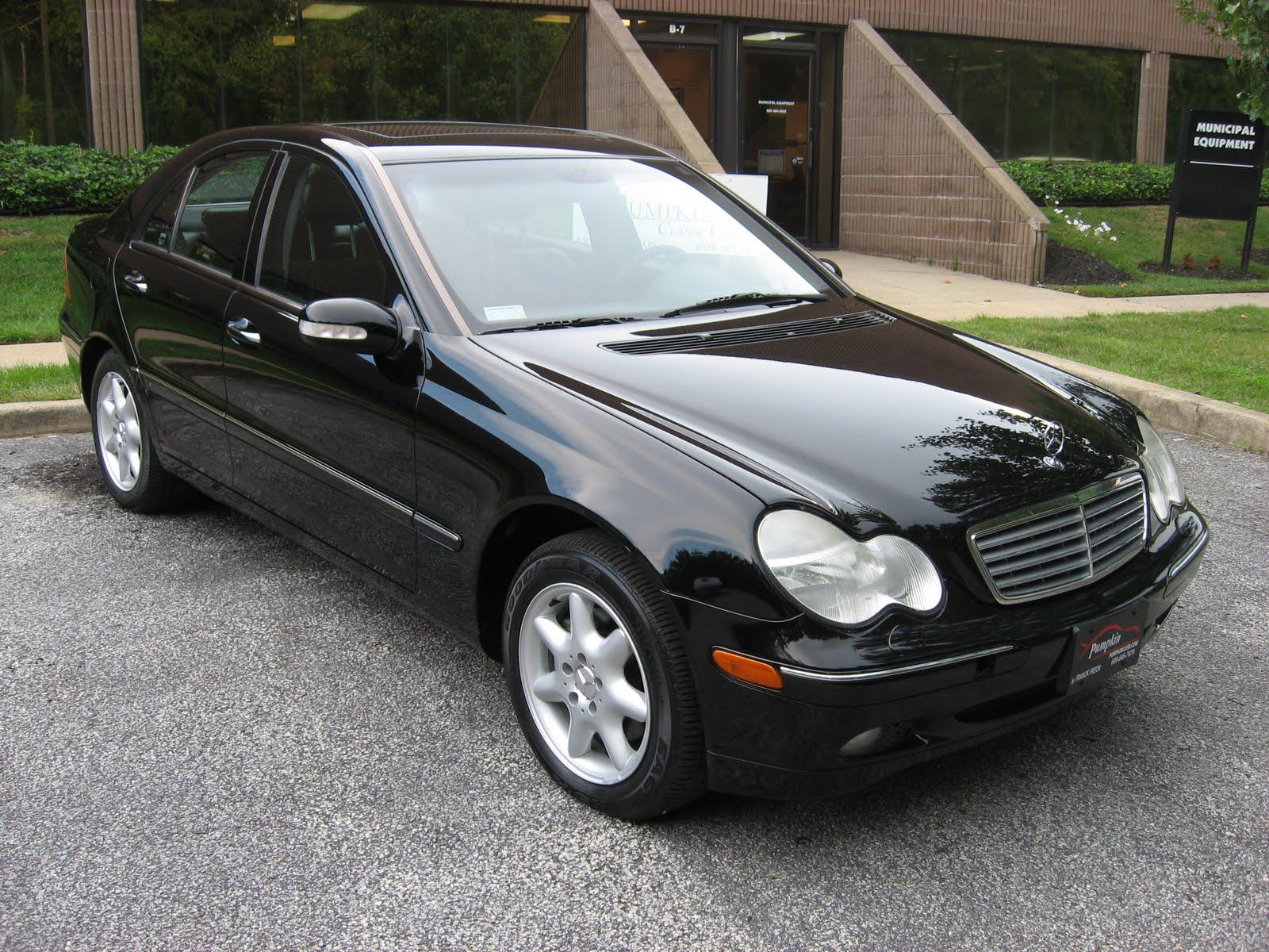 pumpkin fine cars and exotics 2002 mercedes benz c320. Black Bedroom Furniture Sets. Home Design Ideas