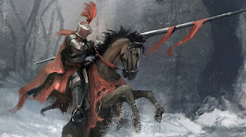 Knight, Horse, Warrior, Fantasy, 4K, #4.608