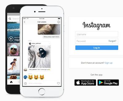 Cara Upload Foto Instagram Lewat PC (Komputer) Menggunakan Web Browser