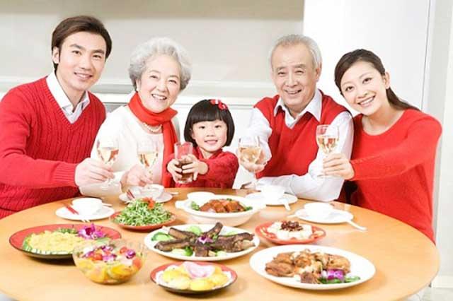 thắt chặt tình cảm gia đình