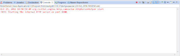 How to create Restlet client in Java