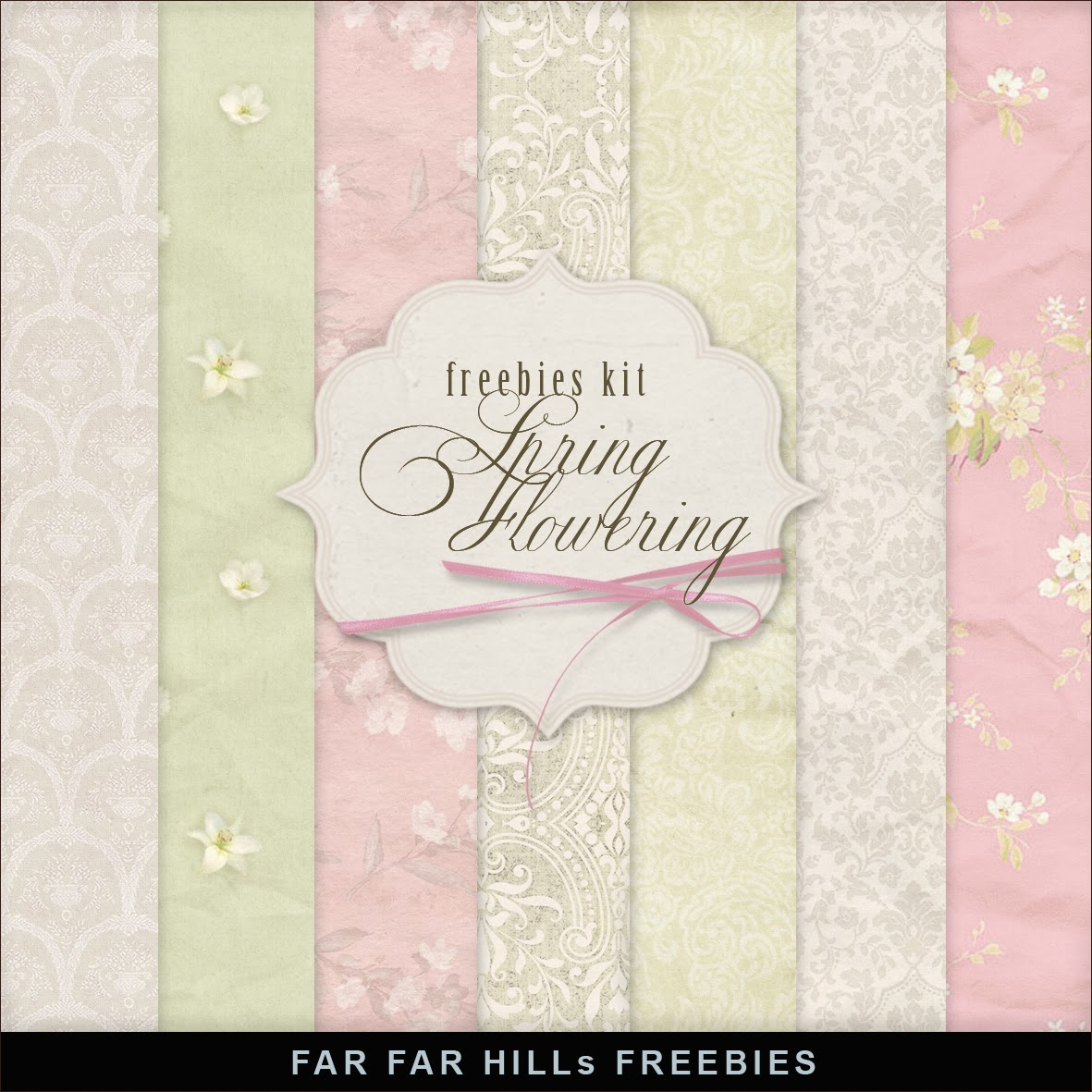 Freebies Papers Kit - Spring Flowering