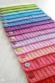 Scheepjes Catona Chain (free crochet pattern) by Susan Carlson of Felted Button