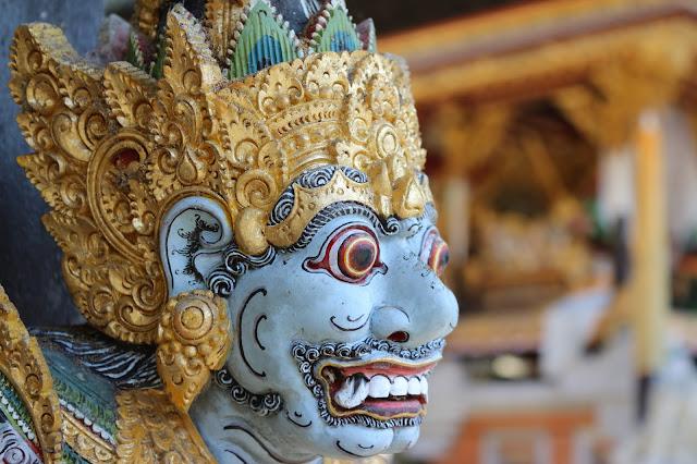 Sculpture in Ubud in Bali