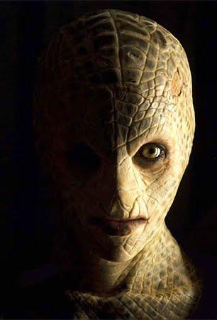 Resultado de imagem para extraterrestres com pele de lagarto