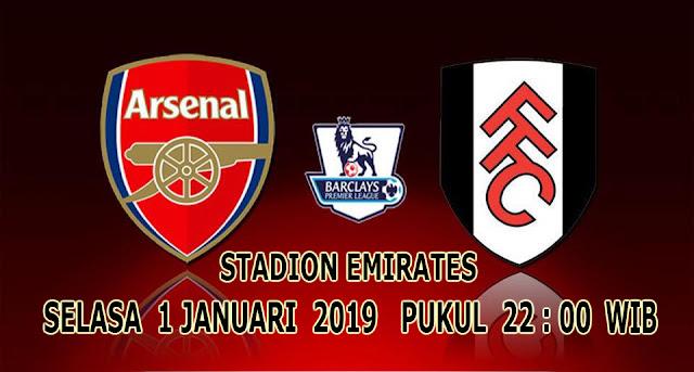 Pertandingan Liga Inggris Malam Ini : Arsenal VS Fulham