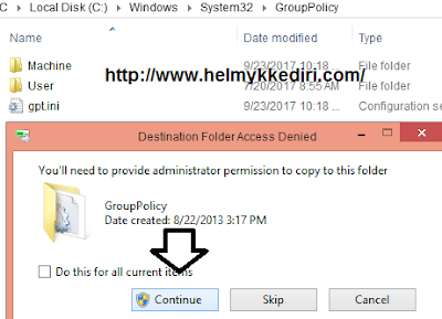 Cara restore pengaturan group policy editor windows2