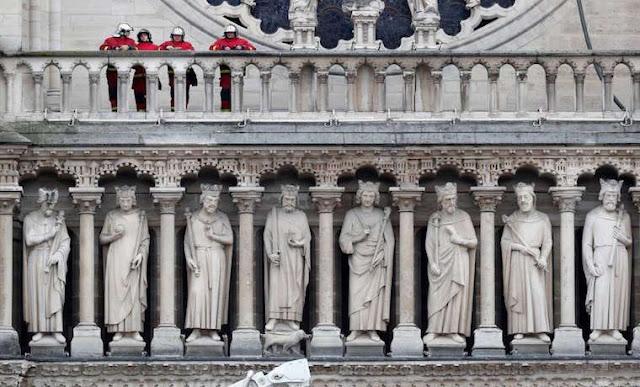 El día después del infierno, lo que quedó de Notre Dame