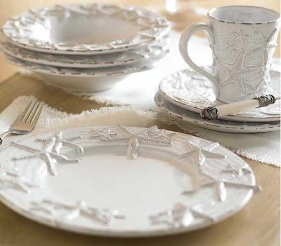 Seaside Inspired - Beach Decor: {the side} Sea Star Dinnerware