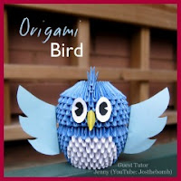 Pajarito de origami