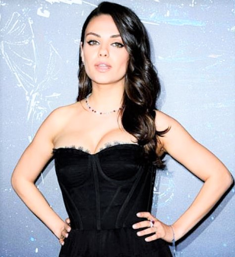 Mila Kunis the hot actress