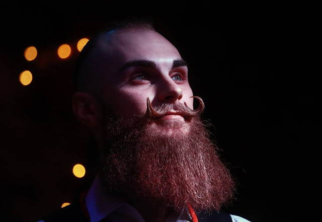 Beard Championships held in Moscow, Russia, entertainment news