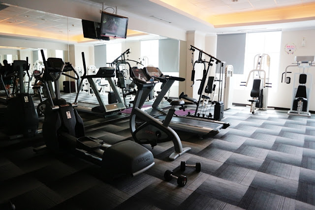Gym Center di The Bellezza Suites Hotel #MeisUniqueBlog