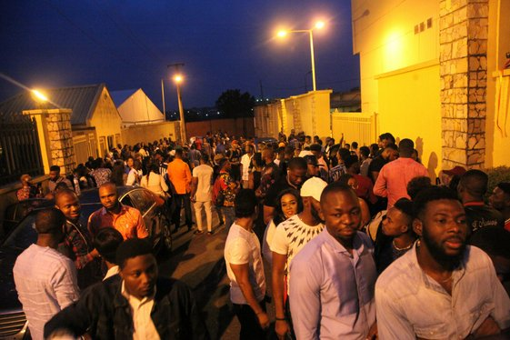Photos: Big Brother Nigeria 2018 Audition Is Ongoing And The Crowd Is Very Massive