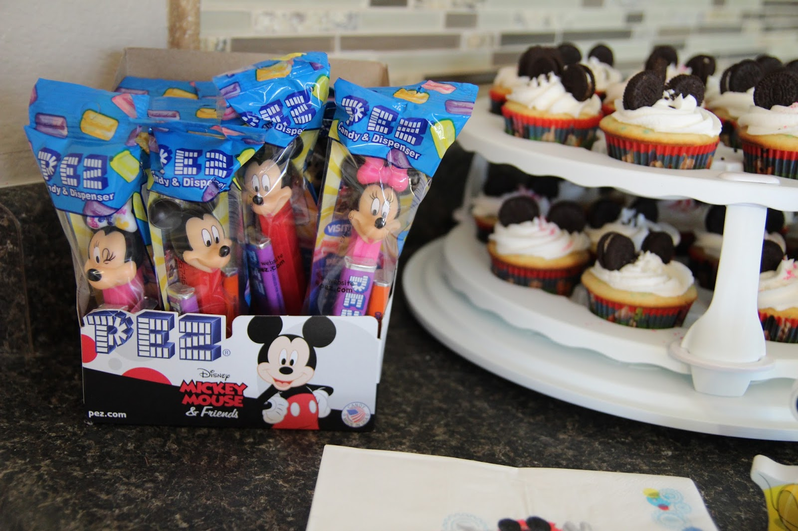 To Do A Small Party Favor For The Kiddos Who Are In Attendance Wesley LOVES Pez So I Ordered Box Of Mickey Mouse And Friends Dispensers From Amazon