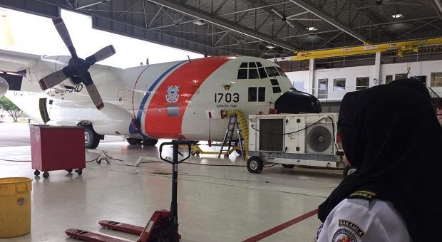 Bakamla RI Kunjungi Fasilitas Sarpras Udara USCG