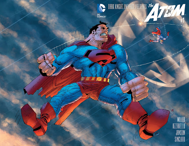The Atom Superman Frank Miller