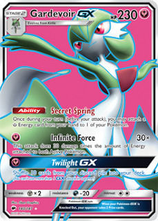 Gardevoir GX Burning Shadows Pokemon Card