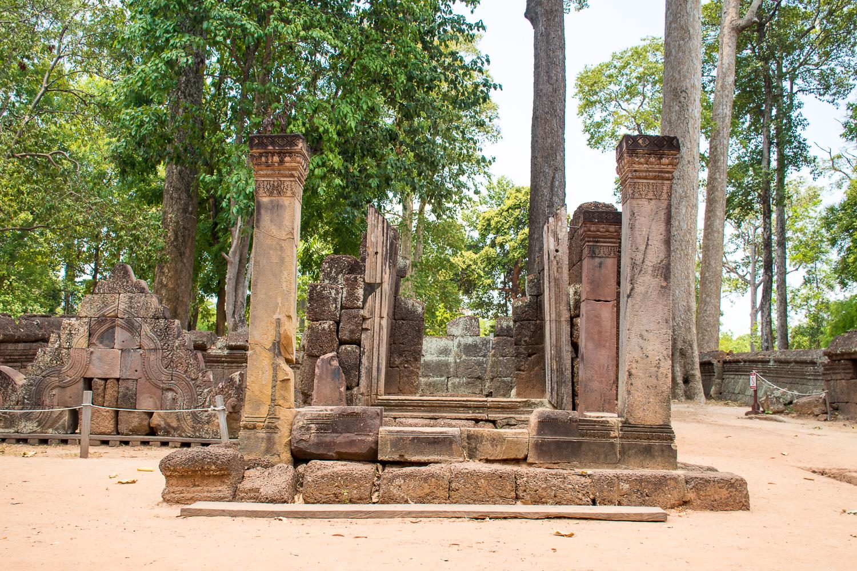 Banteay Sri, Banteay Samre, Preah Khan, Ta Som, and Neak Pean temple siem reap