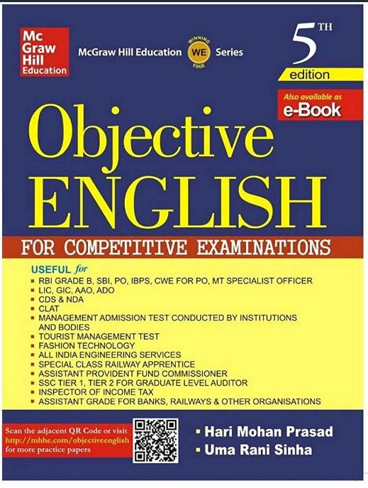McGraw Hill's Objective English Book PDF Download