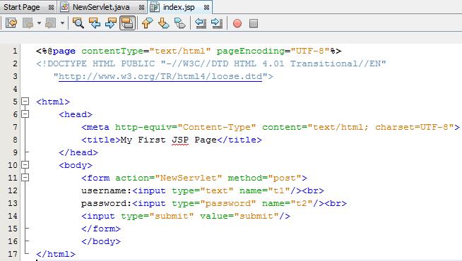 Basic Login Program using JSP and GenericSevlet class : Love