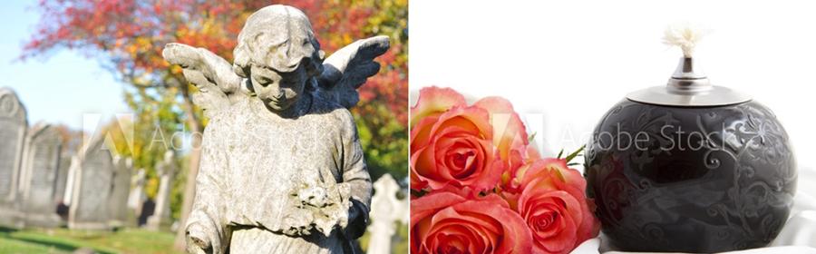 statuie cimitir incinerare