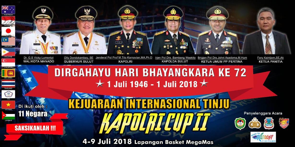 Erwin Kontu: Kejurnas Kapolri Cup 2018, Kita Sukseskan Sama-sama