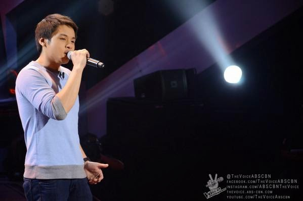 Mark Cando sings 'Get Here' on 'The Voice of the Philippines' Season 2