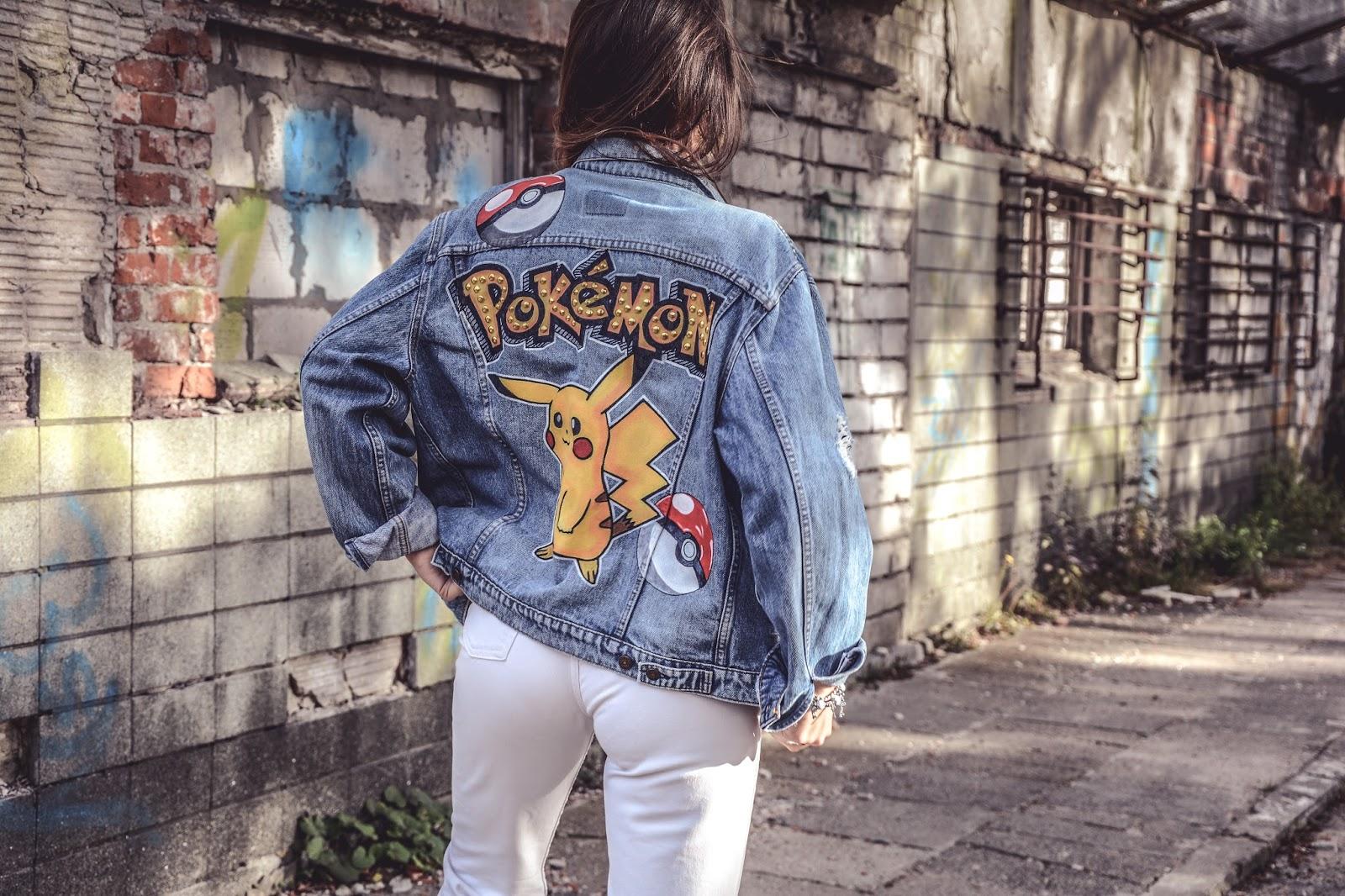 pokemon denim jacket