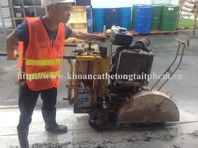 Khoan cắt bê tông tại huyện Đông Hải