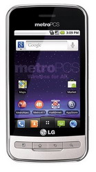 LG Optimus M Android smartphone for MetroPCS