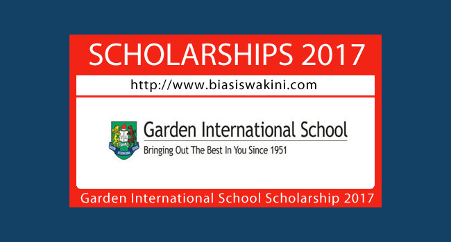 Garden International School Scholarship 2017