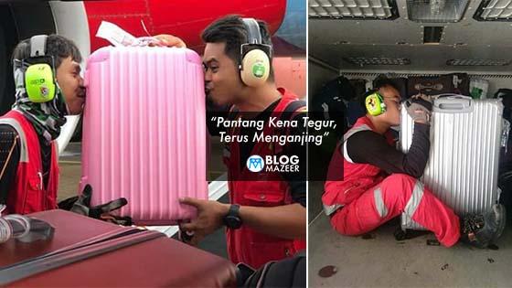 """""""Pantang Kena Tegur, Terus Menganjing"""" – Netizen Pertikai Keikhlasan Pekerja AirAsia Memohon Maaf"""