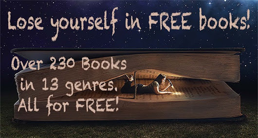 FREE BOOKS. LOADS OF THEM ONLY UNTIL 30th JULY