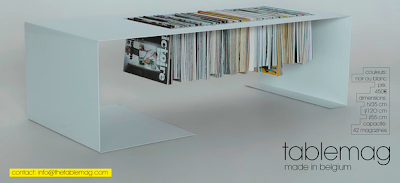 coffee table / magazine rack