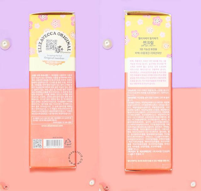 Elizavecca Milky Piggy Sun Cream SPF50