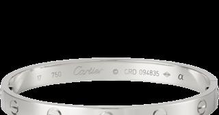 868682301299b White Gold Bracelets: White Gold Love Bracelets