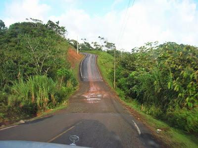 Carretera a Guna Yala, San Andrés, Panamá, round the world, La vuelta al mundo de Asun y Ricardo, mundoporlibre.com