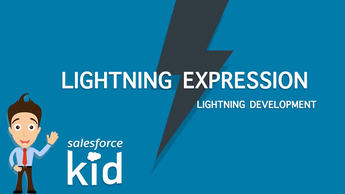 salesforce lightning expression