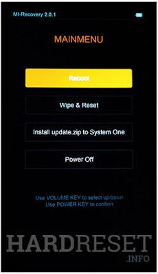 Cara Hard Reset Lupa Pola Pada Xiaomi Redmi Note 4x